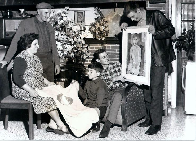 marcel maes met ouders